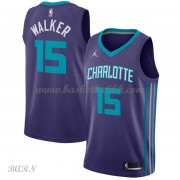 Barn Basketball Drakter Charlotte Hornets 2018 Kemba Walker 15# Statement Edition Swingman..
