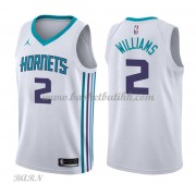 Barn Basketball Drakter Charlotte Hornets 2018 Marvin Williams 2# Association Edition Swingman..