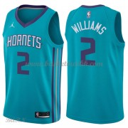 Barn Basketball Drakter Charlotte Hornets 2018 Marvin Williams 2# Icon Edition Swingman..