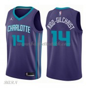 Barn Basketball Drakter Charlotte Hornets 2018 Michael Kidd-Gilchrist 14# Statement Edition Swingman..