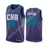Barn Basketball Drakter Charlotte Hornets 2019-20 Purple Statement Edition Swingman Drakt