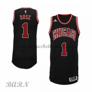 Barn Basketball Drakter Chicago Bulls 2015-16 Derrick Rose 1# Alternate..