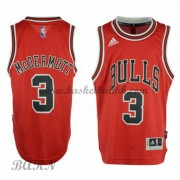 Barn Basketball Drakter Chicago Bulls 2015-16 Doug McDermott 3# Road..