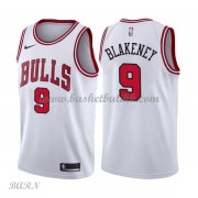 Barn Basketball Drakter Chicago Bulls 2018 Antonio Blakeney 9# Association Edition Swingman..