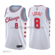 Barn Basketball Drakter Chicago Bulls 2018 Zach Lavine 8# City Edition Swingman..