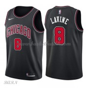 Barn Basketball Drakter Chicago Bulls 2018 Zach Lavine 8# Statement Edition Swingman..