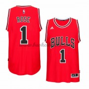 Chicago Bulls 2015-16 Derrick Rose 1# Road NBA Basketball Drakter..