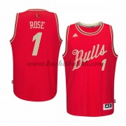 Chicago Bulls Mens 2015 Derrick Rose 1# NBA Julen Drakt NBA Basketball Drakter..