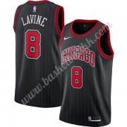 Chicago Bulls NBA Basketball Drakter 2019-20 Zach Lavine 8# Svart Finished Statement Edition Swingman Drakt