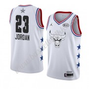 Chicago Bulls 2019 Michael Jordan 23# Hvit All Star Game NBA Basketball Drakter Swingman..