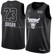 Chicago Bulls Michael Jordan 23# Black 2018 All Star Game NBA Basketball Drakter..