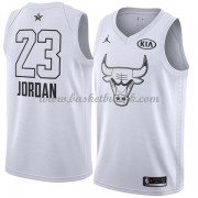 Chicago Bulls Michael Jordan 23# Hvit 2018 All Star Game NBA Basketball Drakter..