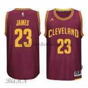 Cleveland Cavaliers Barn 2015-16 LeBron James 23# Road NBA Basketball Drakter..