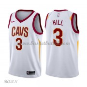 Barn Basketball Drakter Cleveland Cavaliers 2018 George Hill 3# Association Edition Swingman..