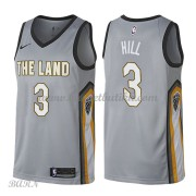 Barn Basketball Drakter Cleveland Cavaliers 2018 George Hill 3# City Edition Swingman..