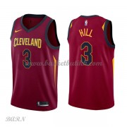Barn Basketball Drakter Cleveland Cavaliers 2018 George Hill 3# Icon Edition Swingman..