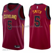 Barn Basketball Drakter Cleveland Cavaliers 2018 J.R. Smith 5# Icon Edition Swingman..