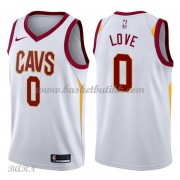 Barn Basketball Drakter Cleveland Cavaliers 2018 Kevin Love 0# Association Edition Swingman..