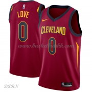 Barn Basketball Drakter Cleveland Cavaliers 2018 Kevin Love 0# Icon Edition Swingman..