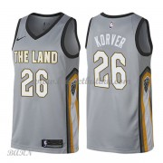 Barn Basketball Drakter Cleveland Cavaliers 2018 Kyle Korver 26# City Edition Swingman..