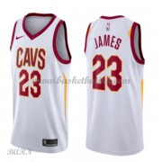 Barn Basketball Drakter Cleveland Cavaliers 2018 LeBron James 23# Association Edition Swingman..