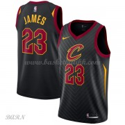 Barn Basketball Drakter Cleveland Cavaliers 2018 LeBron James 23# Statement Edition Swingman..