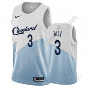 Barn Basketball Drakter Cleveland Cavaliers 2019-20 George Hill 3# Hvit Earned Edition Swingman Drak..