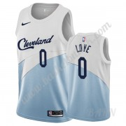 Barn Basketball Drakter Cleveland Cavaliers 2019-20 Kevin Love 0# Hvit Earned Edition Swingman Drakt..