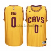 Cleveland Cavaliers NBA Basketball Drakter 2015-16 Kevin Love 0# Gold Alternate Drakt..