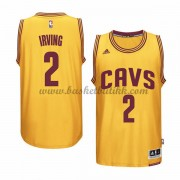 Cleveland Cavaliers NBA Basketball Drakter 2015-16 Kyrie Irving 2# Gold Alternate Drakt..