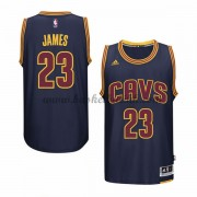 Cleveland Cavaliers 2015-16 LeBron James 23# Navy Alternate NBA Basketball Drakter..