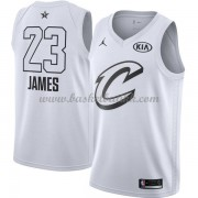 Cleveland Cavaliers LeBron James 23# Hvit 2018 All Star Game NBA Basketball Drakter..