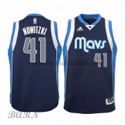 Barn Basketball Drakter Dallas Mavericks 2015-16 Dirk Nowitzki 41# Alternate