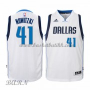 Barn Basketball Drakter Dallas Mavericks 2015-16 Dirk Nowitzki 41# Hjemme..