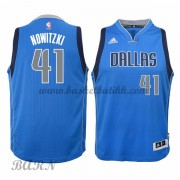 Barn Basketball Drakter Dallas Mavericks 2015-16 Dirk Nowitzki 41# Road