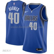 Barn Basketball Drakter Dallas Mavericks 2018 Harrison Barnes 40# Icon Edition Swingman..