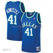 Barn Basketball Drakter Dallas Mavericks Kids 1998-99 Dirk Nowitzki 41# Blue Hardwood Classics Swing..