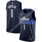 Barn Basketball Drakter Dallas Mavericks 2019-20 Dennis Smith Jr 1# Marinen Statement Edition Swingm..