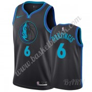 Barn Basketball Drakter Dallas Mavericks 2019-20 Kristaps Porzingis 6# City Edition Swingman Drakt..