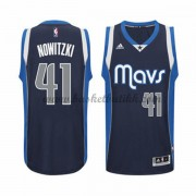 Dallas Mavericks NBA Basketball Drakter 2015-16 Dirk Nowitzki 41# Alternate Drakt..