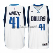 Dallas Mavericks NBA Basketball Drakter 2015-16 Dirk Nowitzki 41# Hjemme Drakt..