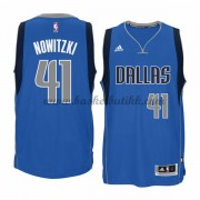 Dallas Mavericks NBA Basketball Drakter 2015-16 Dirk Nowitzki 41# Road Drakt..