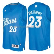 Dallas Mavericks Basketball Drakter 2016 Wesley Matthews 23# NBA Julen Drakt..