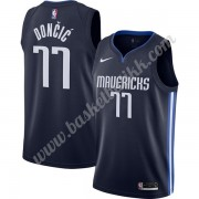 Dallas Mavericks NBA Basketball Drakter 2019-20 Luka Doncic 77# Marinen Finished Statement Edition S..