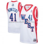 Dallas Mavericks Dirk Nowitzki 41# Hvit 2004 All Star Hardwood Classics NBA Basketball Drakter..