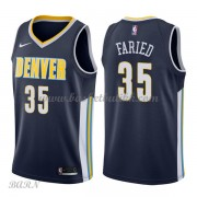 Barn Basketball Drakter Denver Nuggets 2018 Kenneth Faried 35# Icon Edition Swingman..