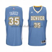 Denver Nuggets NBA Basketball Drakter 2015-16 Kenneth Faried 35# Road Drakt..