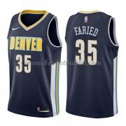 Denver Nuggets NBA Basketball Drakter 2018 Kenneth Faried 35# Icon Edition..