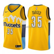 Denver Nuggets NBA Basketball Drakter 2018 Kenneth Faried 35# Statement Edition..