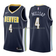 Denver Nuggets NBA Basketball Drakter 2018 Paul Millsap 4# Icon Edition..